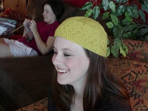 Deede's cap, sideview